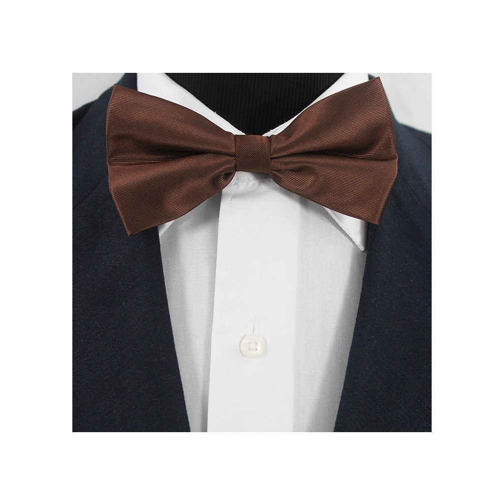 Bestow Solid Color Bow Ties - Pre-Tied