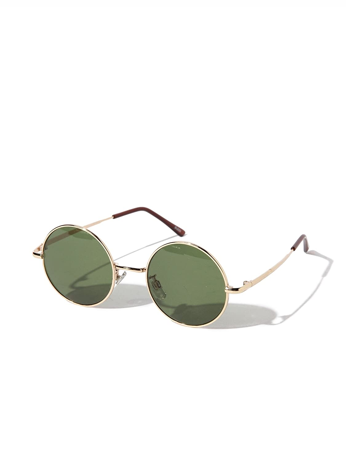 Amazon | (レイビームス) Ray BEAMS NOEYEDIA NE-301 ONE SIZE GOLD/GREEN | サングラス 通販