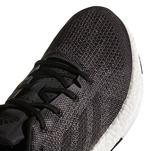 Adidas Mens Pureboost Dpr, Solid Gray / Running White / Core Black Black