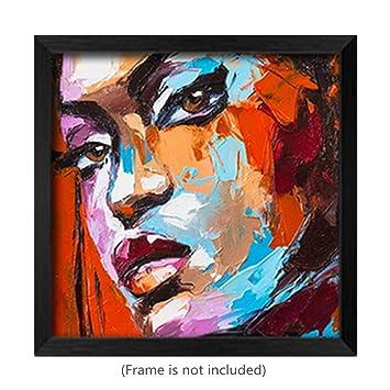 Peinture à l'huile 3D Fantasy Femme Visage