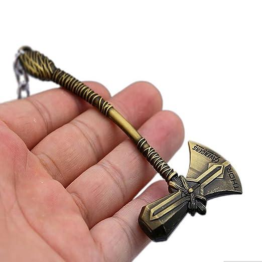 Amazon.com: Paquete de 2 llavero con martillo de Avengers ...