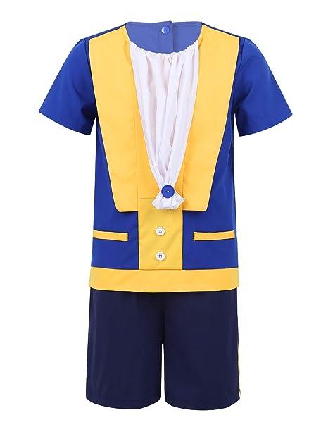 Amazon.com: CHICTRY Beast Costume Shirts with Shorts Wedding ...