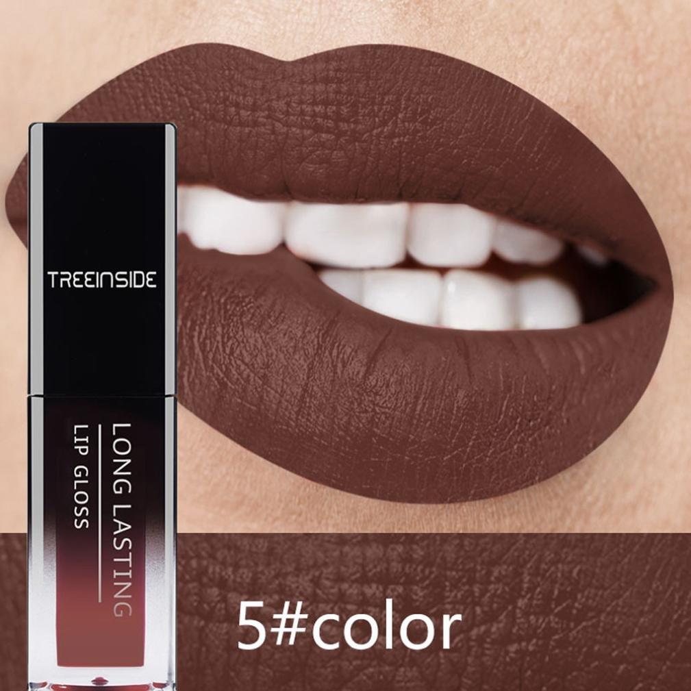 Alonea Lip Stains, Lips Matte Lasting Lipstick Lip Gloss (05#)