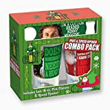 ICUP 15432 Elf the Movie Rectangle Quotes Pint Opener Combo, Multicolor