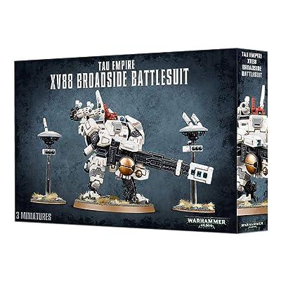 Games Workshop Warhammer 40,000T au XV88 Broadside Battlesuit: Toys & Games