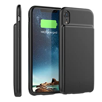 Happon Funda Bateria iPhone XR, 5000mAh Batería Cargador ...