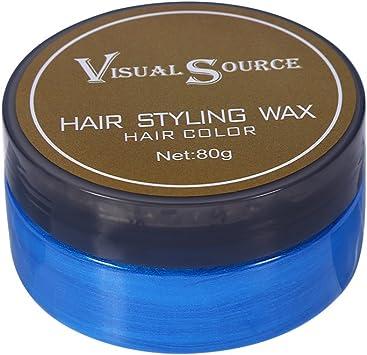 Cera para pelo con tinte para una fijación fuerte - Ideal para crear un estilo determinado con un color especioso de manera tempranea en tu pelo ...