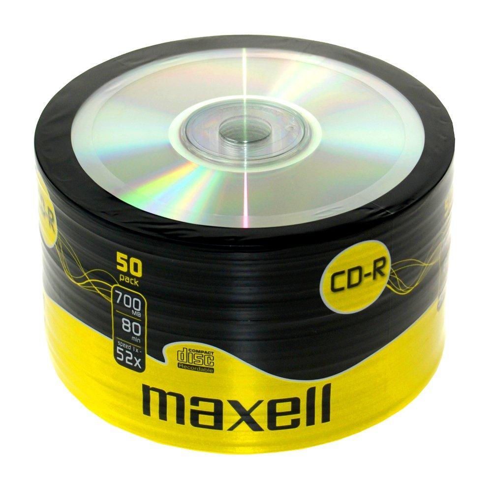 Maxell CD-R80XL - 50 x CD-R - 700 MB ( 80min ) 52x - spindle - storage media