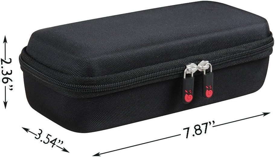 Hermitshell Hard EVA Travel Black Case Fits ZoeeTree S1 Wireless Bluetooth Speaker Outdoor Portable Stereo Speaker