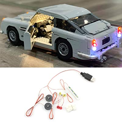 HMANE LED Light Set Battery Operated for Lego 10262 James Bond Aston Martin, LED Light Only (Not Lego Manufacturing or Selling): Toys & Games