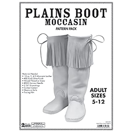 Amazon Tandy Leather Adult Plains Boot Moc Pattern Pack 6035 00