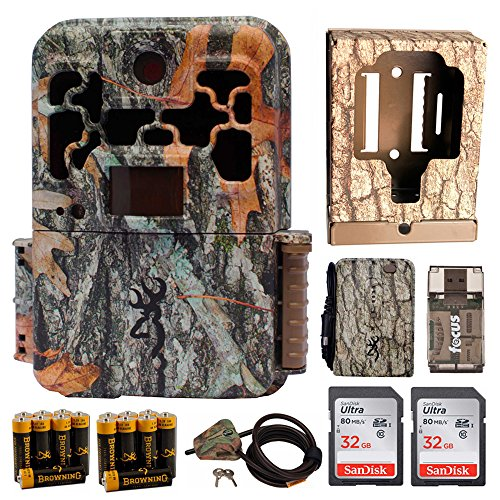 Browning Spec Ops FHD Extreme Trail Game Camera with Color Viewer (20MP) & Long Battery Life Observation Kit by Browning Trail Cameras