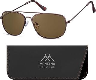 Montana Lunettes De Soleil Mixte Multicolore (Coffee + Brown Lenses) Taille Unique S93D