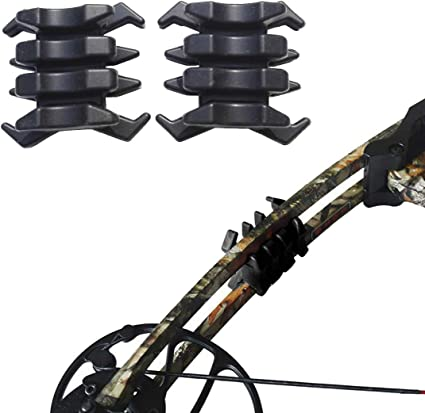 2 Pairs Compound Bow Limb Stabilizer Dampener Silencer Archery Accessories