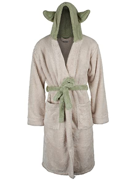 Officially Licensed Star Wars Yoda Character Cream Adult Dressing ...
