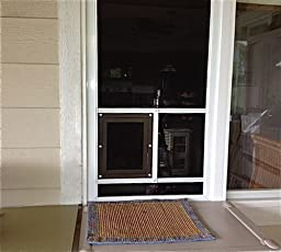 Amazon Com Petsafe Pet Screen Door Bronze Pet Door