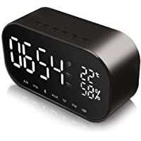 Despertador con Altavoz Bluetooth JIM'S STORE Reloj