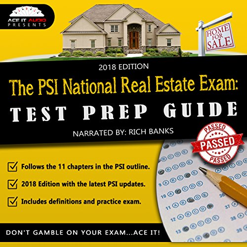 The PSI National Real Estate License Exam: Test Prep Guide cover