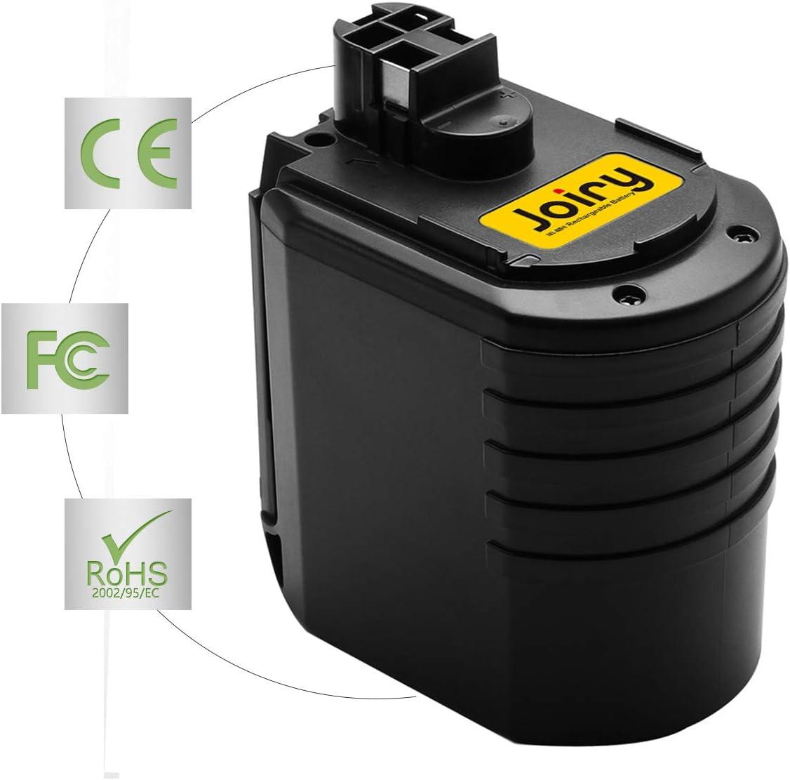 Ni-MH Battery Joiry 24V 3.5Ah Battery Compatible with Bosch GBH24VRE GBH24VFR GBH24VSR BBH24VRE BAT019 BAT020 BAT021 11225VSR 2607335082 2607335216 2607335190 2607335163