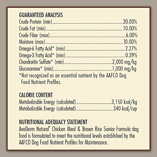AvoDerm-Natural-Chicken-Meal-and-Brown-Rice-Formula-Senior-Dog-Food-26-Pound