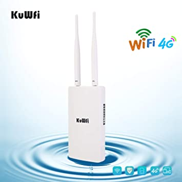 KuWFi Router WiFi inalámbrico, 150Mbps El Enrutador CAT4 3G ...