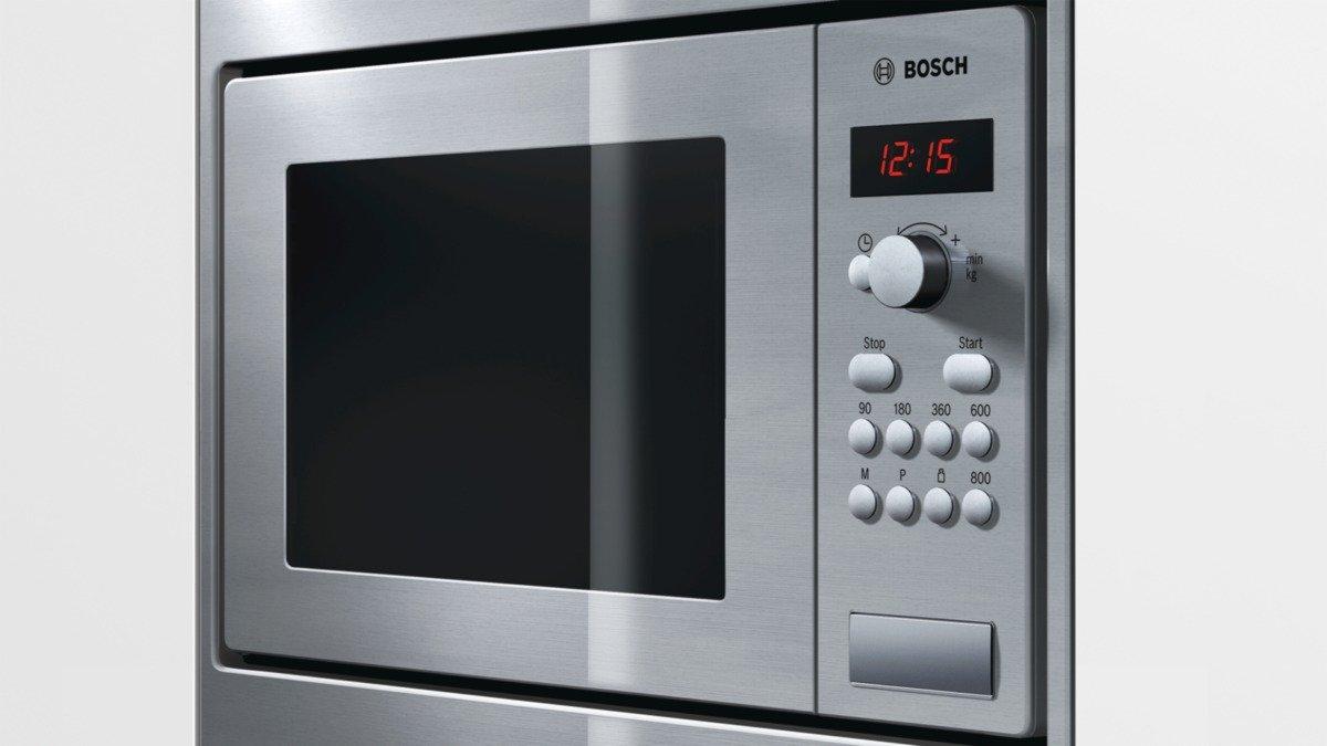 Bosch HMT75M551, Plata, 453 x 320 x 280 mm, 16000 g, 290 x 274 x 194 mm - Microondas: Amazon.es: Hogar