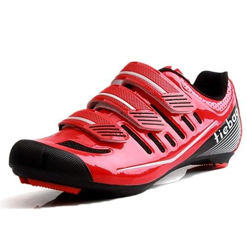 Zapatillas De Ciclismo para Hombres, Bicicletas, Ligeras Zapatillas De Bicicleta para Bicicletas, Zapatillas De Carretera Profesionales: Amazon.es: Zapatos ...