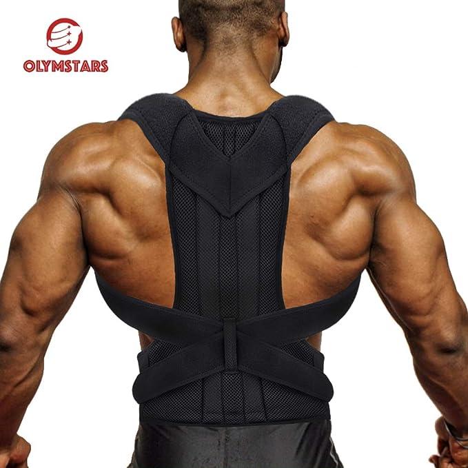 49 opinioni per Correttore Postura, Olymstars Correttore Postura Schiena Uomo Donna/Regolabile