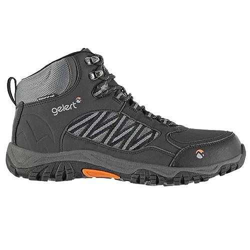 c3b3bdba2e3 Mens Full Lace Up Horizon Waterproof Mid Walking Boots (10 (45 ...
