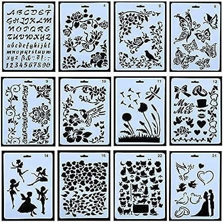 100 Zeichnen Malen Schablonen Maßstab Vorlage Sets Kunststoff