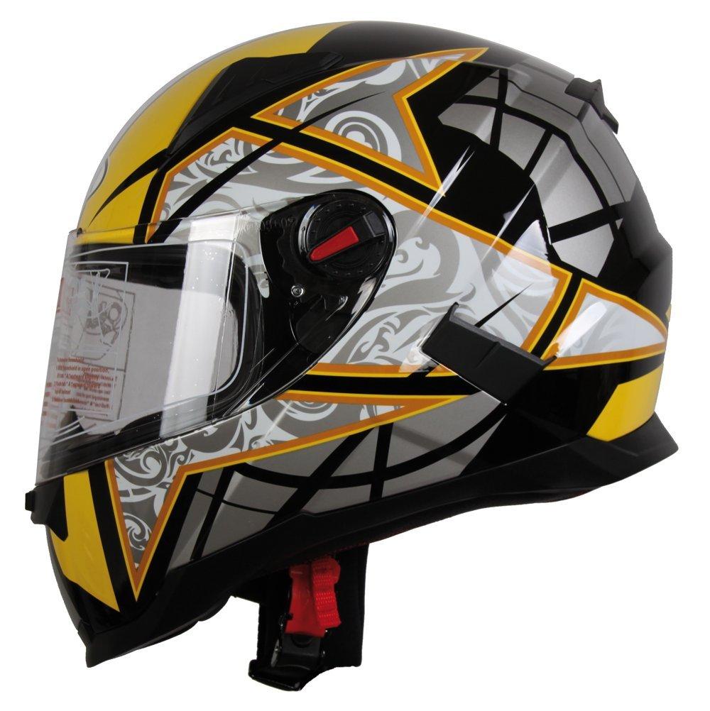 BHR 94083/Helmet 714 yellow 53//54 size XS
