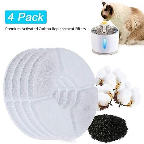 Amazon.com: Fuente de acero inoxidable para gatos ...