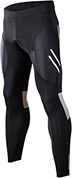 RION 2017 Steed Series Cycling Compression Tights 3//4 Capri Padded Pants Sean