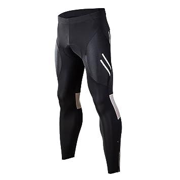 Cycling Equipment Men Cycling Bib Tights Knee Fleece 4D Pads Bike Pants Reflective Shorts Trousers Cycling Clothing