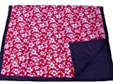 Tuffo Water-Resistant Outdoor Blanket, Red Hawaii: more info
