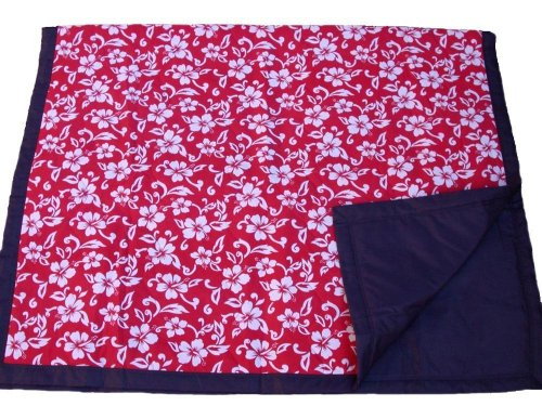 Tuffo Water-Resistant Outdoor Blanket, Red Hawaii