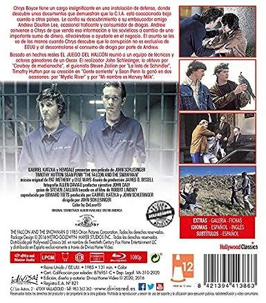 El Juego del Halcón [Blu-ray]: Amazon.es: Timothy Hutton ...