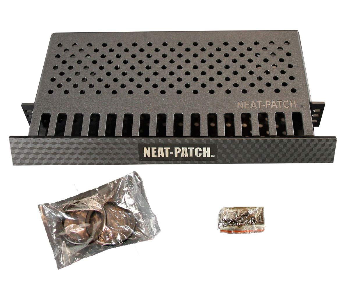 Neat Patch MINI 1U Low Profile Cable Management Unit (2 Pack)