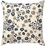 Pehr Designs Fiori Pillow, Navy by Pehr Designs