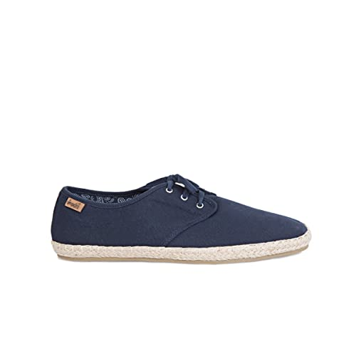 Springfield - Alpargata básica de cordones - Hombre: Amazon.es: Zapatos y complementos