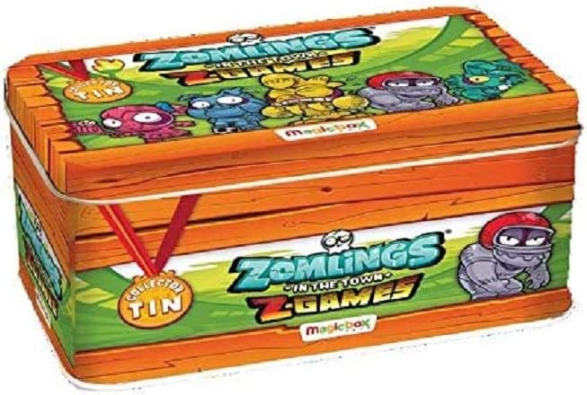 Magic Box Lata Metálica de Zomlings, Serie 4: Amazon.es: Juguetes y juegos