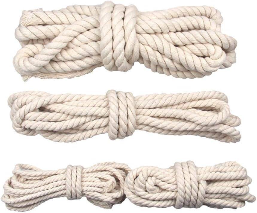 AOM Cuerda de cáñamo, Cuerda Gruesa, Bolso de Bricolaje, Cuerda de ...