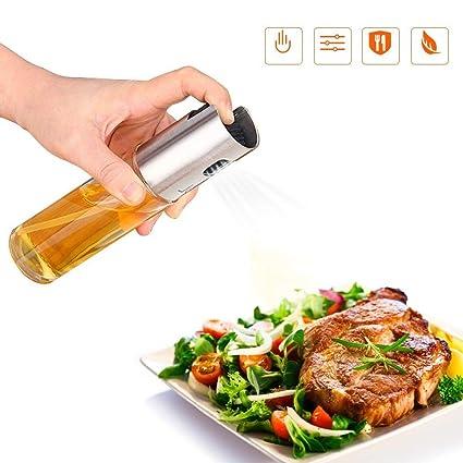 Aceite Vinagre, Oil Sprayer, aceite de oliva pulverizador, acero inoxidable dispensador de aceite