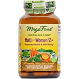 MegaFood - Multi for Women 55+, A Balanced Real Food Multivitamin, 120 Tablets