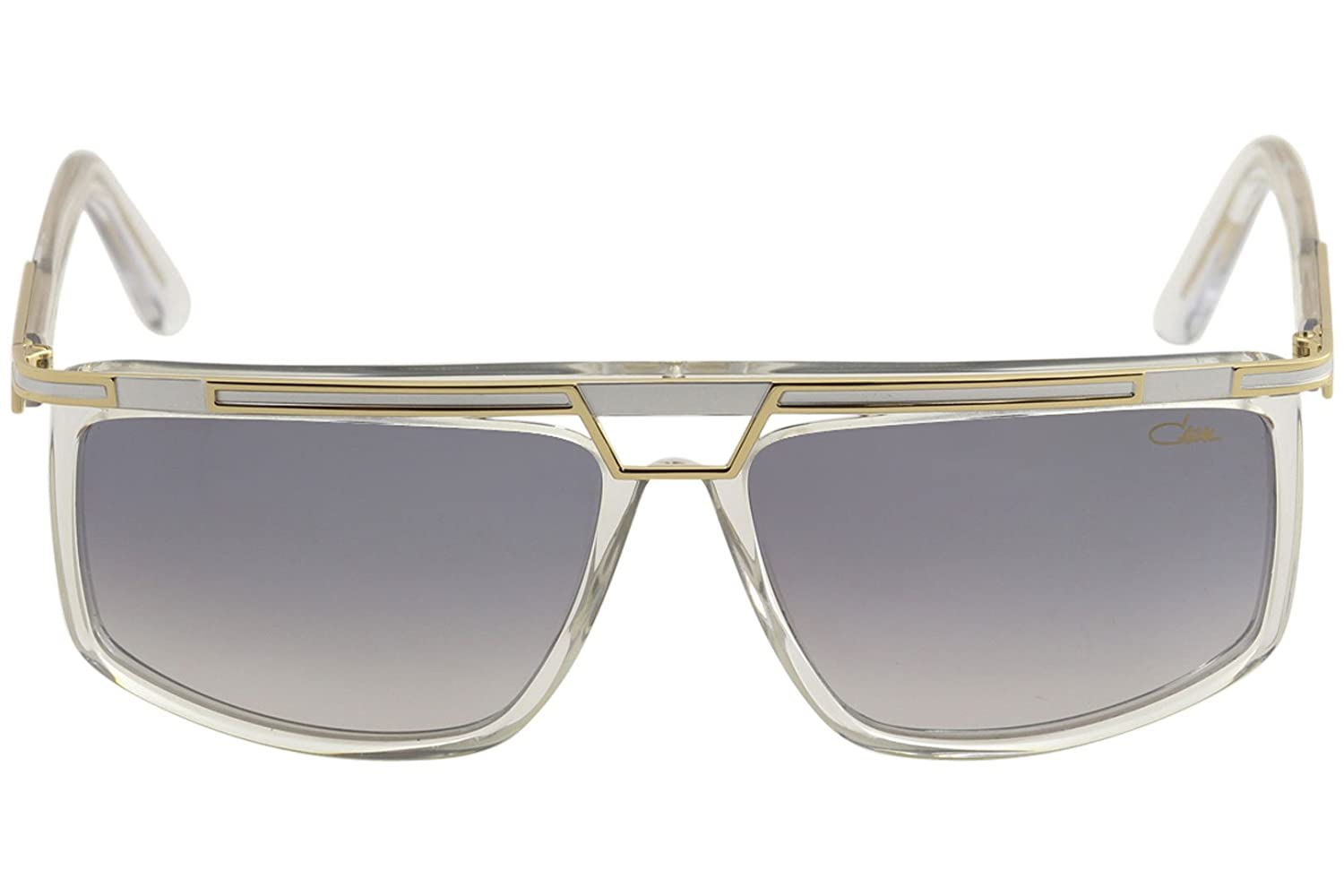 acf2f4d7bc3 Amazon.com  Cazal 8036 Sunglasses 003SG Crystal-Gold Light Grey Gradient  Lens 62mm  Clothing