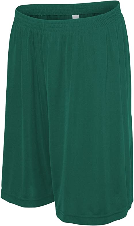 Adult Wicking Mesh Soccer Short Green Small