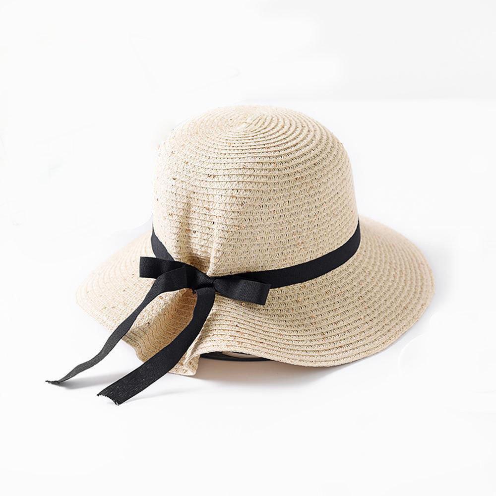 Dixinla Visera Las Las Visera Señoras Paja Sombrero Sol Sombrero ...
