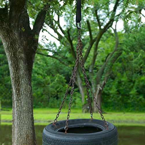 1 quick easy tree swing hanging strap kit by Wood tree swing and hanging kit