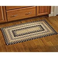 Park Designs Cornbread Braided Rectangle Rug - 27 x 45