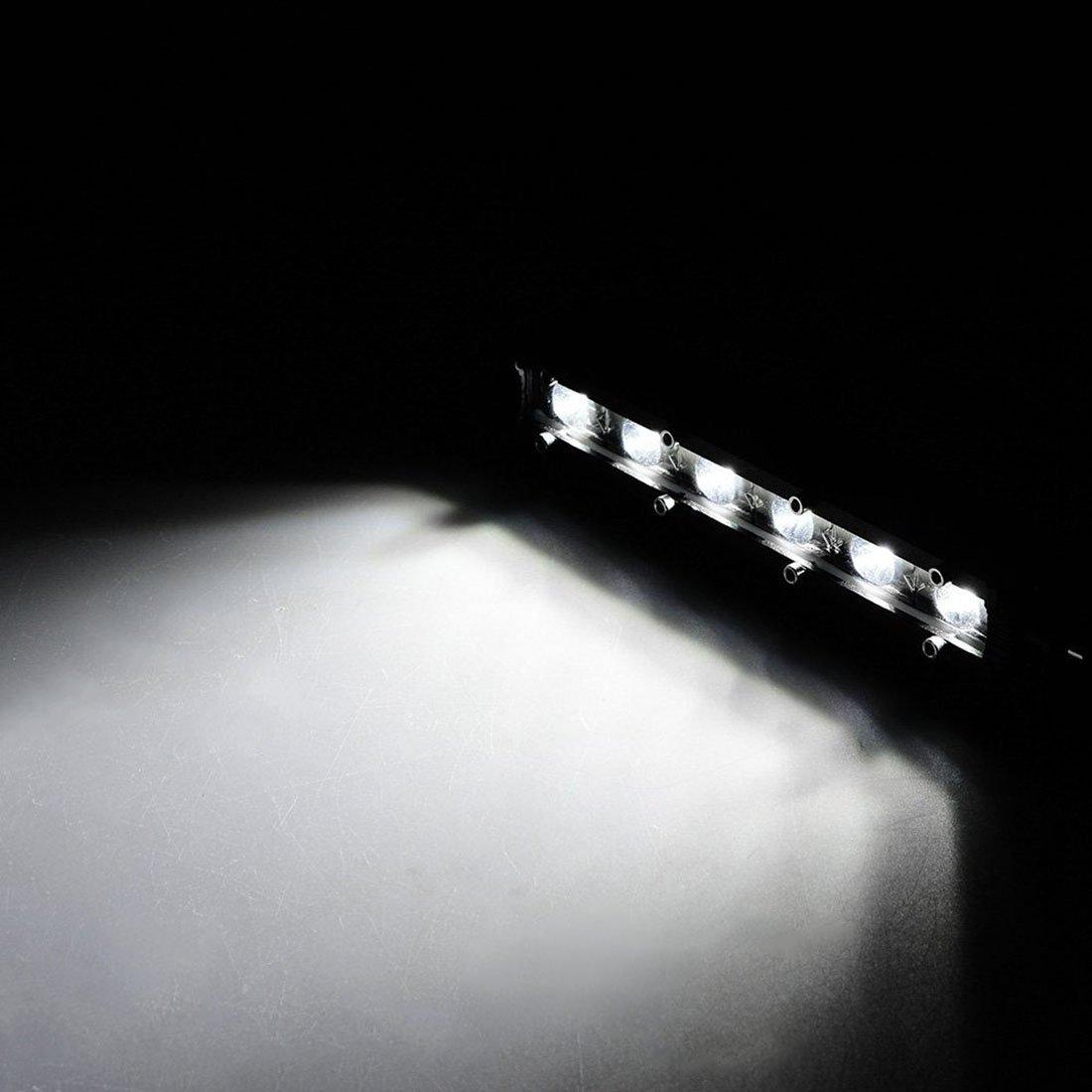 1 Year Warranty 4PCS Safego 4 Inch 72W LED Work Light Bar 6000LM LED Spotlight Cree Off Road Driving Fog Lights for Car ATV UTV SUV Truck Boat Motorcycle 12V//24V